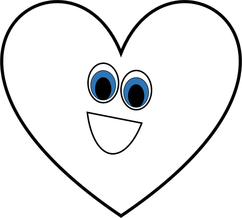 small resolution of heart black and white black and white heart shape clipart