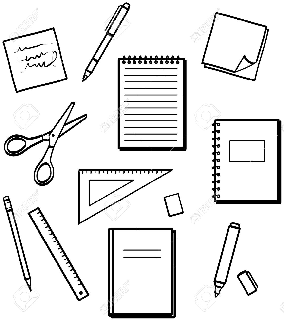 Free School Supplies Clipart Gclipart