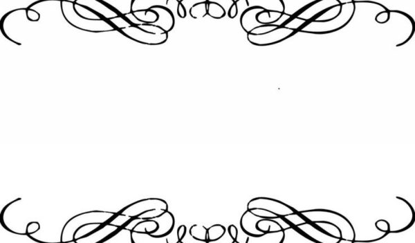 20 Edge Border Clip Art Wedding Ideas And Designs
