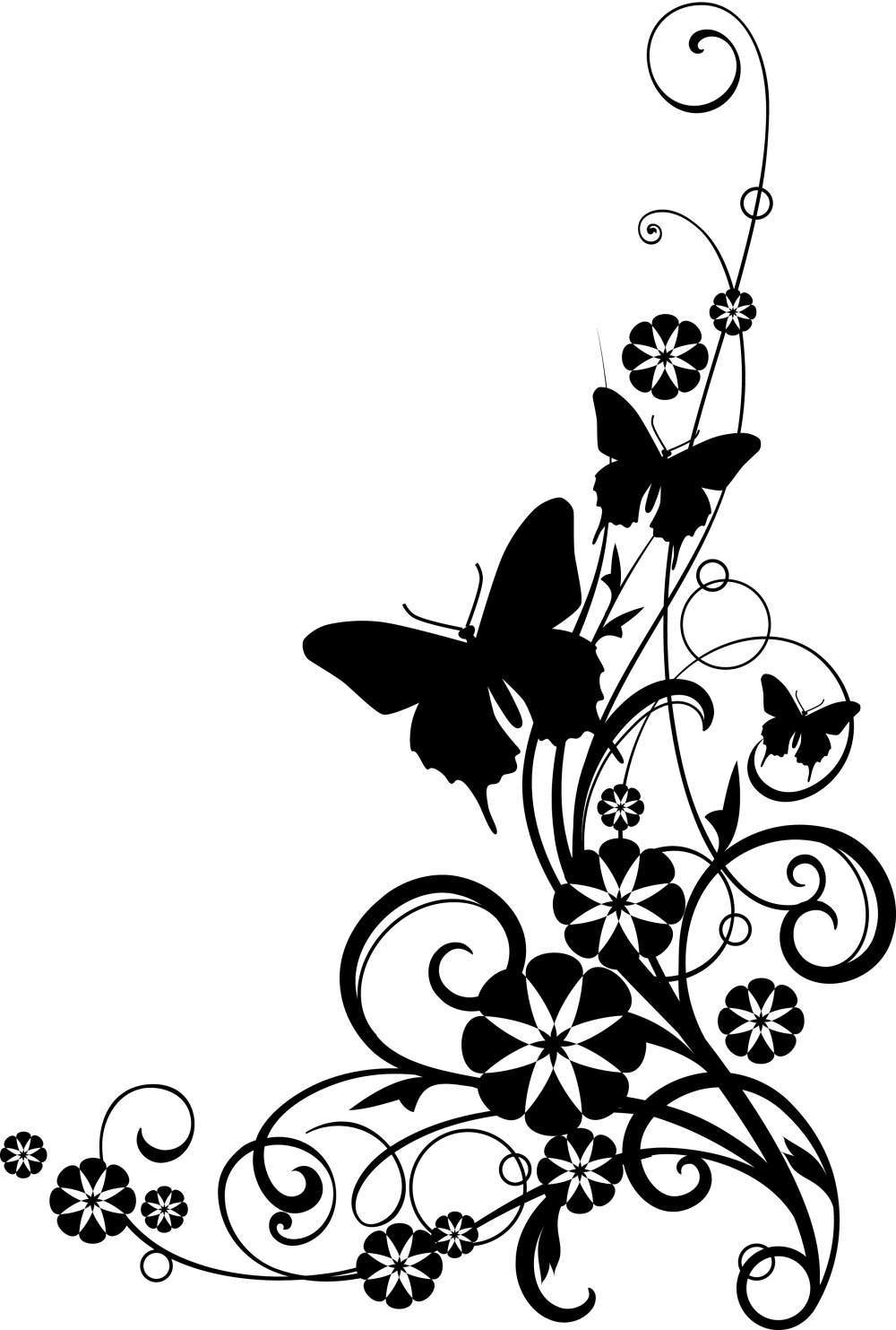 medium resolution of butterfly black and white black and white cross with butterfly clipart