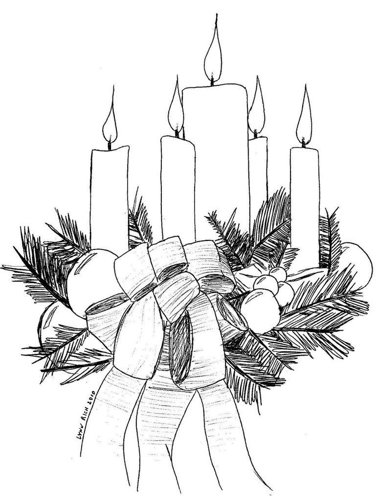 Christmas advent calendar clipart black and white clip art