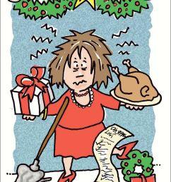 christmas stress clipart [ 800 x 1053 Pixel ]