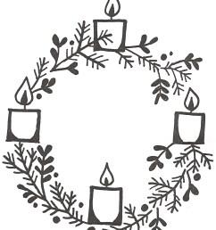 clipart advent wreath clip art [ 1092 x 1303 Pixel ]