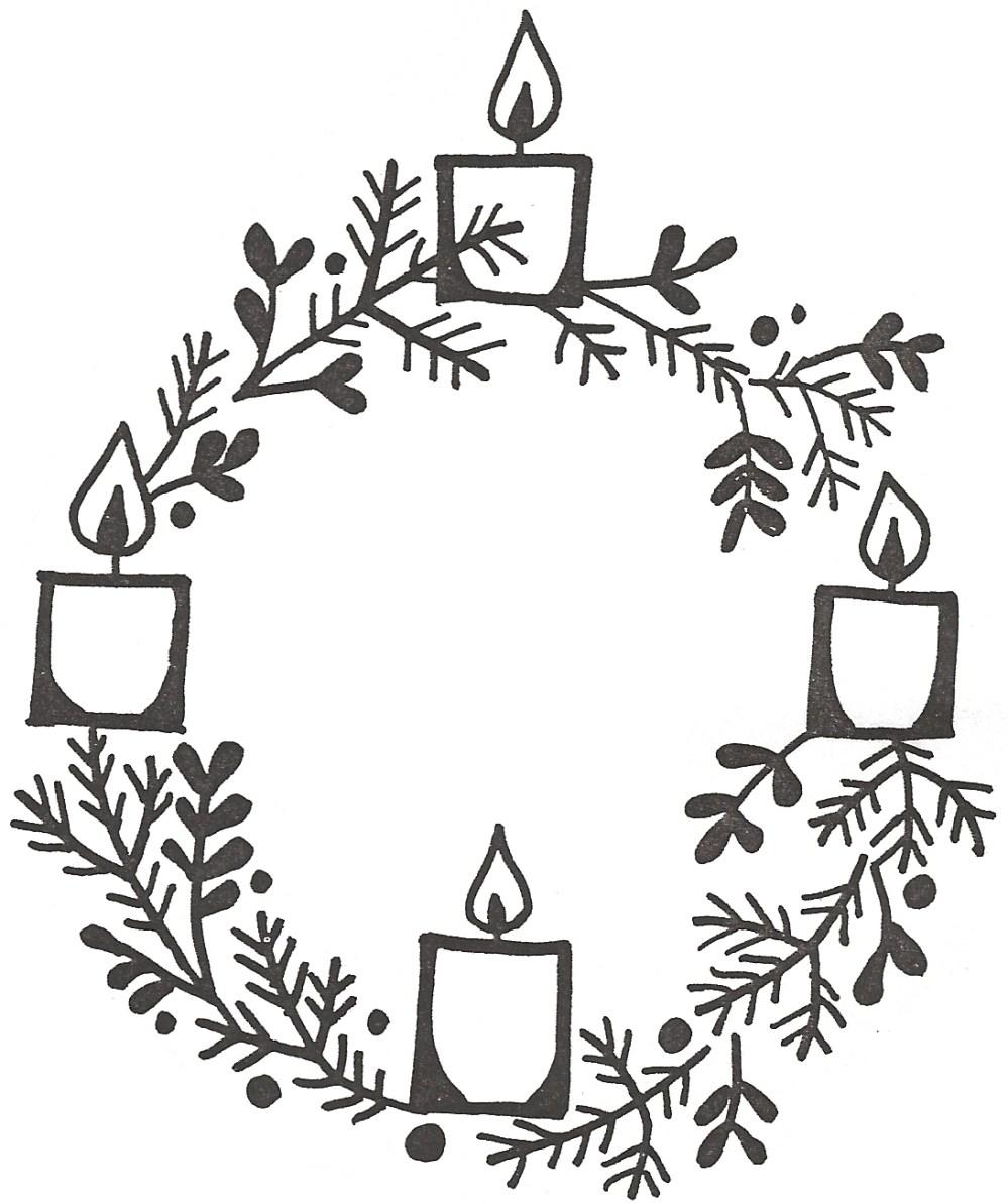 medium resolution of clipart advent wreath clip art