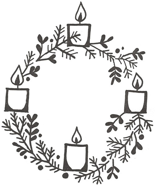 small resolution of clipart advent wreath clip art