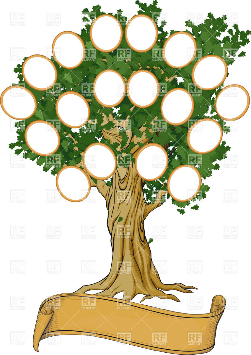 hight resolution of family reunion clipart free rf tree