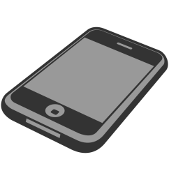 top iphone clip art images for [ 1979 x 1439 Pixel ]