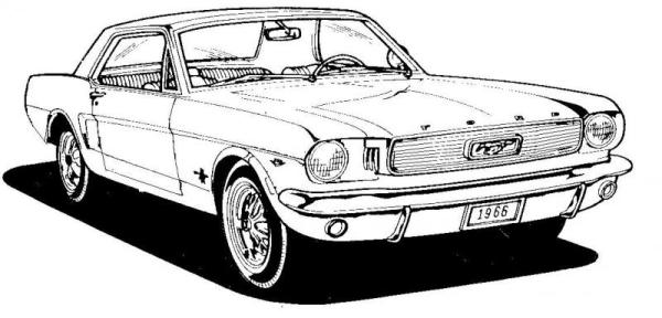 6 ford mustang clip art Gclipartcom