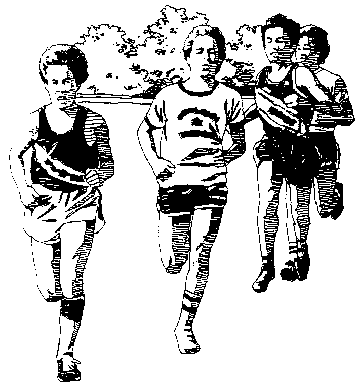 Cross country clip art library 2