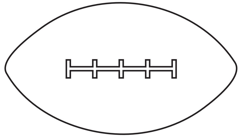 medium resolution of football black and white american football clipart black and white library free