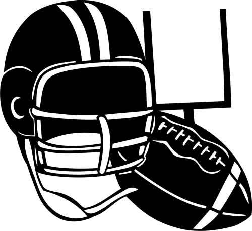 small resolution of football black and white football clip art football clipart photo niceclipart