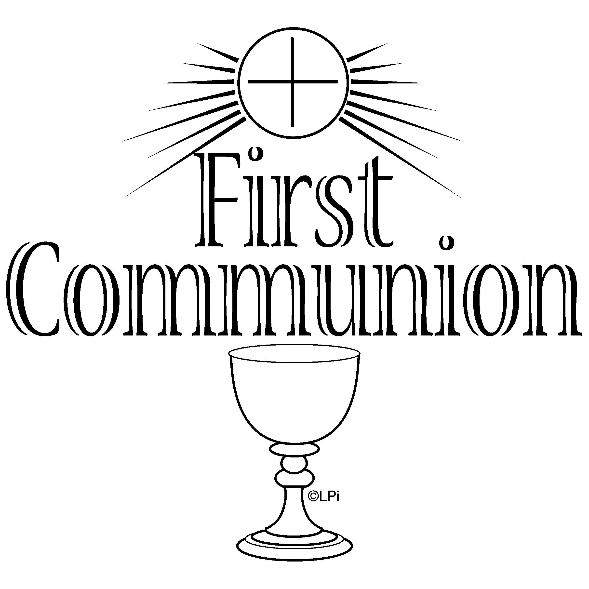 First Communion Firstmunion Clip Art Clipart Gclipart