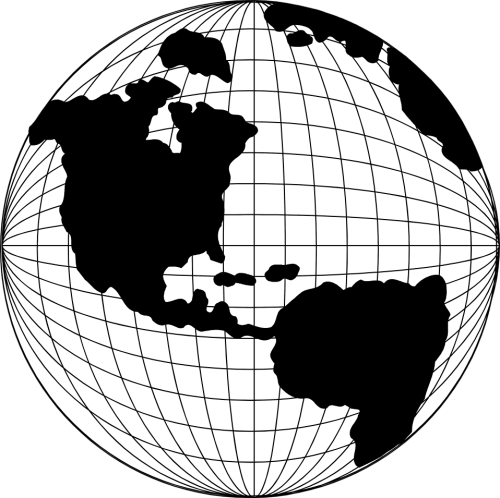 small resolution of globe clipart globe map pencil and in color