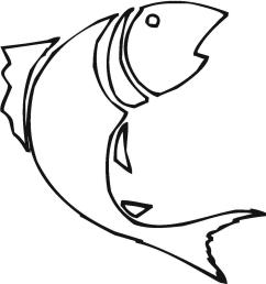 hd bass fish outline clip art design [ 1135 x 1200 Pixel ]