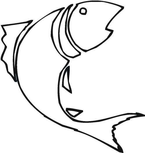 small resolution of hd bass fish outline clip art design