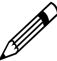 pencil black and white pencil silhouette free pictures clip art [ 1920 x 1920 Pixel ]