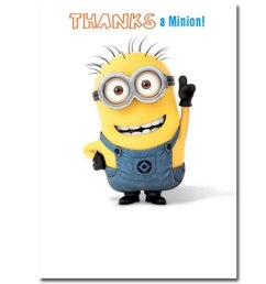 minion greeting card collection ebay clipart [ 1000 x 1000 Pixel ]