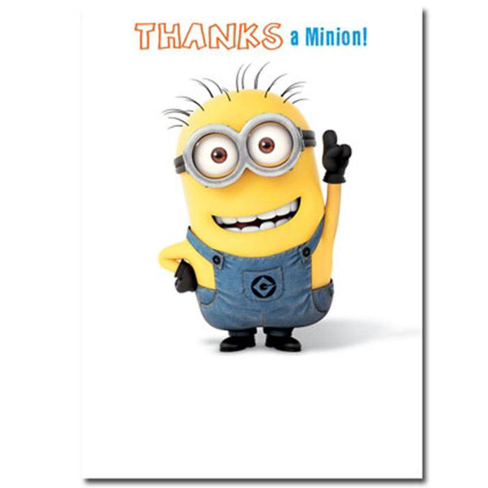 medium resolution of minion greeting card collection ebay clipart