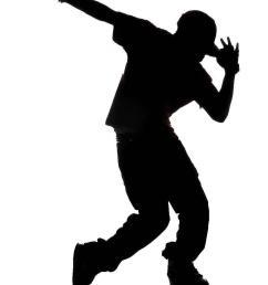 zumba dancer clipart hip hop silhouette library [ 893 x 1157 Pixel ]