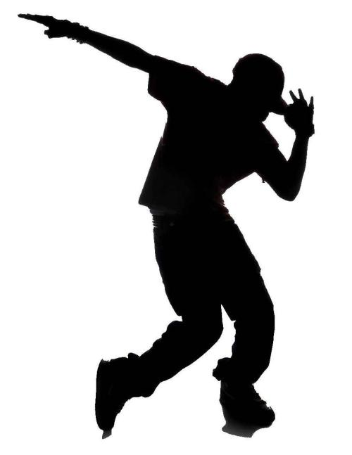 small resolution of zumba dancer clipart hip hop silhouette library