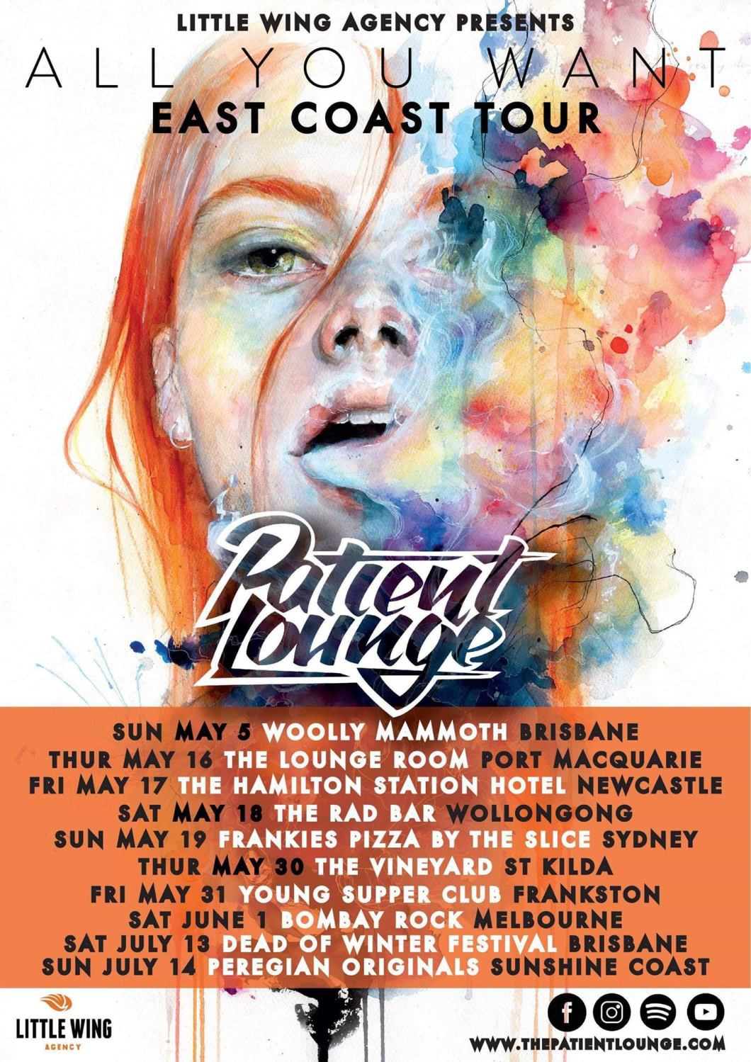 Patient Lounge - 'All You Want' Tour - Poster.jpg