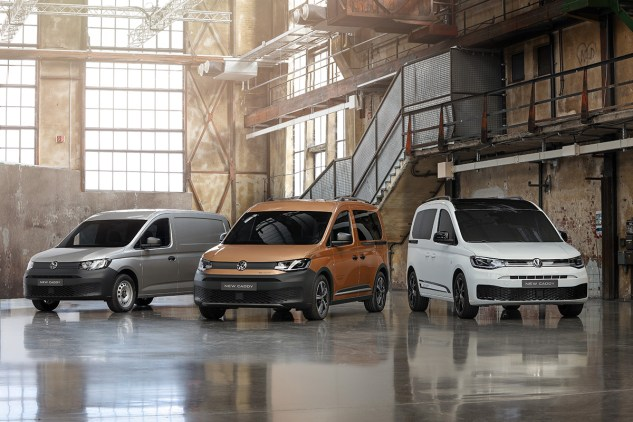 2021 VW Caddy Pan Americana