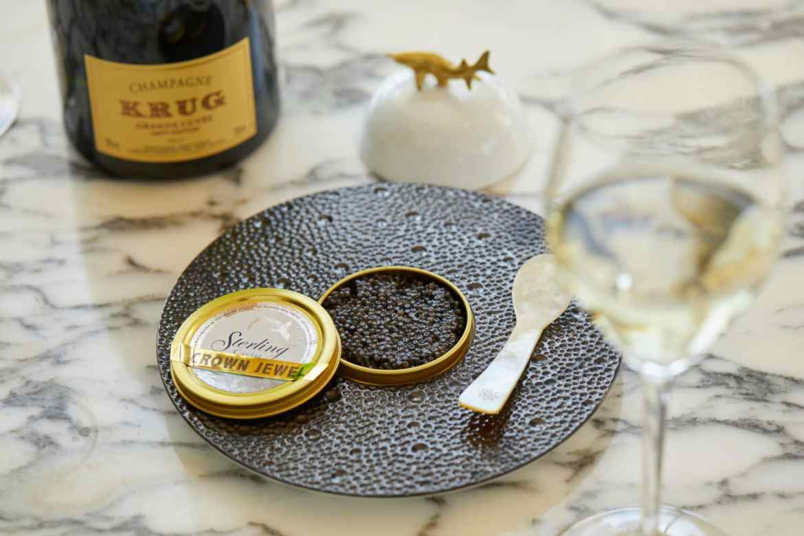 Champagne & Caviar month at Nineteen at The Star