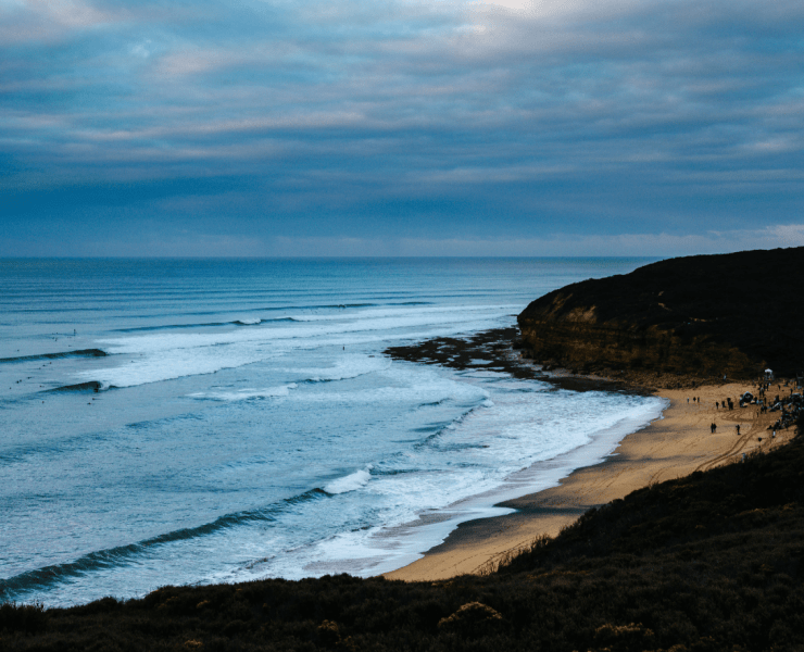 50-Year Storm Beginning to Show at Rip Curl Pro Bells Beach