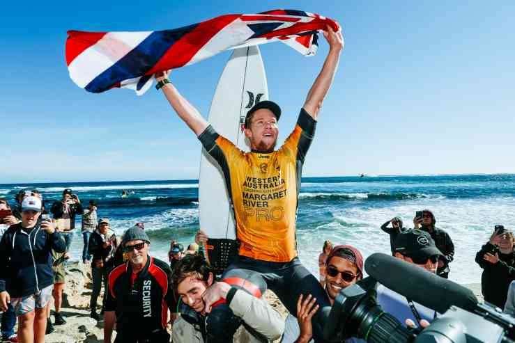 John John Florence extends lead with Margaret River Pro Win