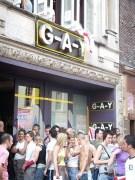 G-A-Y Bar, London. HIV test