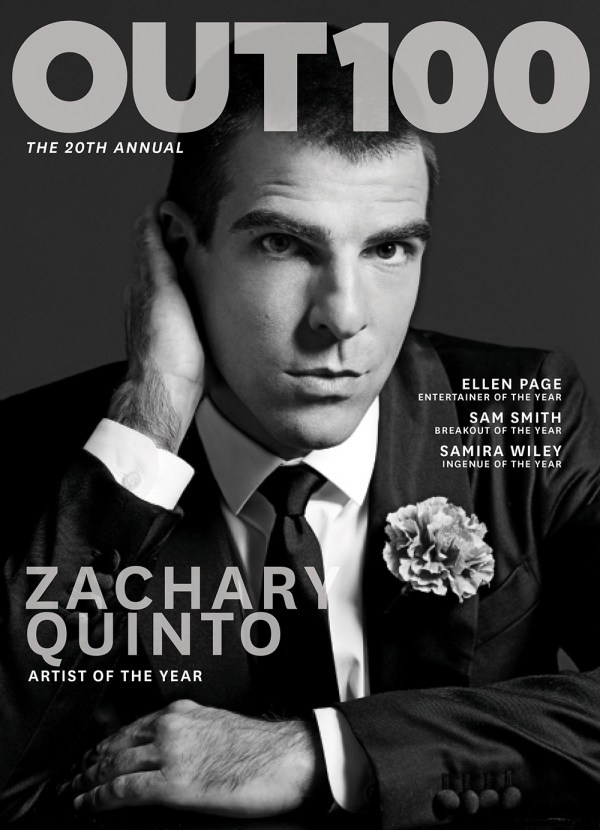Zachary Quinto - Artist of the Year