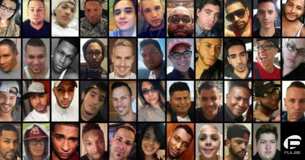 Photographs of the 49 victims of the Orlando shooting