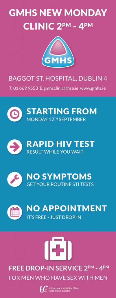STI Checkpoint, Gay Mens Health Project HIV Services Ireland