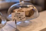 Lemon cake in Aperitivo in a glass jar