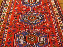 the national antiques art and vintage fair which has a gorgeous rug