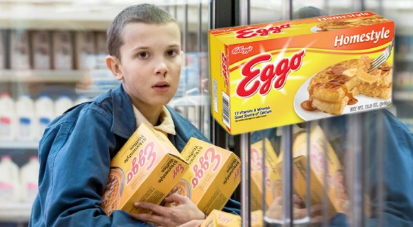 Eleven and her boxes of Eggos would be a perfect halloween costume for lesbians