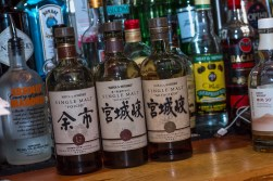 Japanese liquor from Yamamori Sushi, who's manager Graham Ryan we interviewed in this month's Amuse Bouche