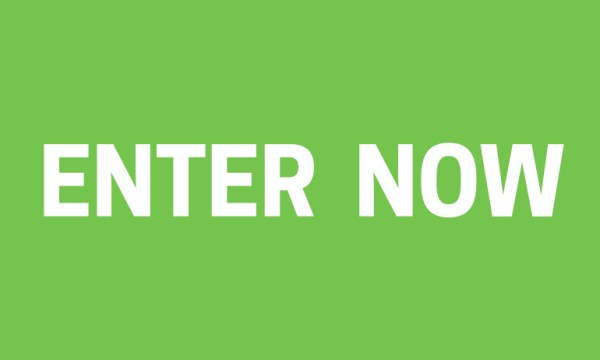 Enter now written over green background for the celebrity cruises competition