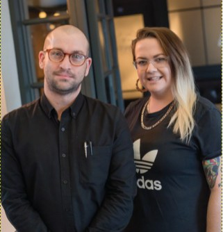 Nicky Higgins (left), Restaurant Manager, and Nicky Connolly, Bar Manager and at The Yarn