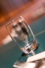 An empty glass at San Lorenzo's