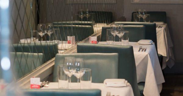 Intimate table setting at BANG restaurant