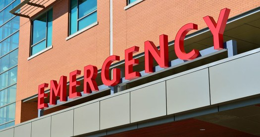 A picture of an emergency department, where PEP is available through the HSE
