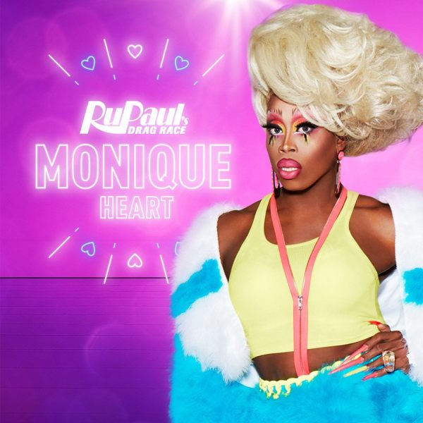 Monique's promo shoot for RuPaul's Drag Race S10