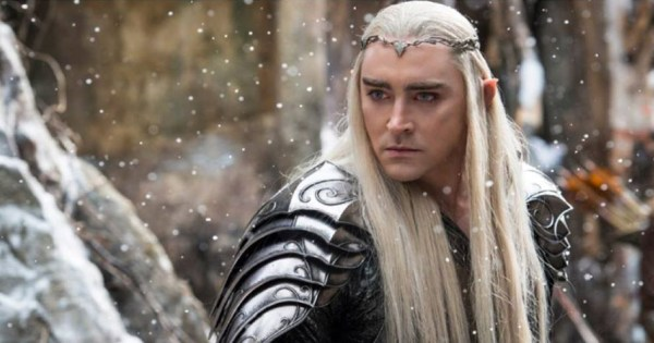 Actor Lee Pace in a scene of The Hobbit
