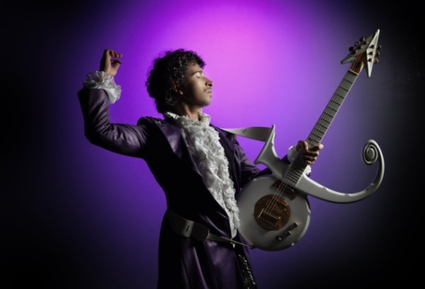 Jimi Love lead vocalist in the music tribute to Prince