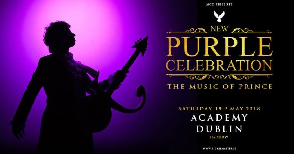 Prince's music tribute show poster