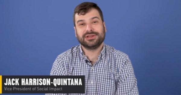Jack Harrison-Quintana of Grindr apologizing for data sharing