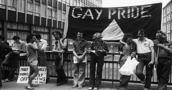 Gay Pride, Gay Liberation Movement