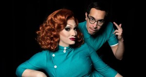 Jinkx is pictured with Major Scales