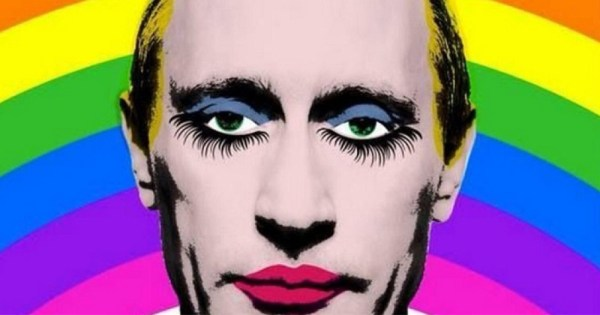 image of Putin in pop art style used by Paddy Power